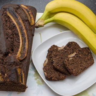 Banánkenyér recept