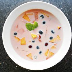 Tejszínes gyümölcsleves főzés nélkül recept
