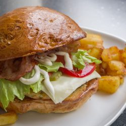 Házi csirkeburger