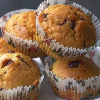 Bögrés csokoládés muffin